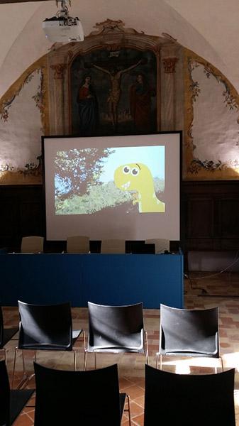 Dinosauri a Gubbio  - Dyna la mascotte