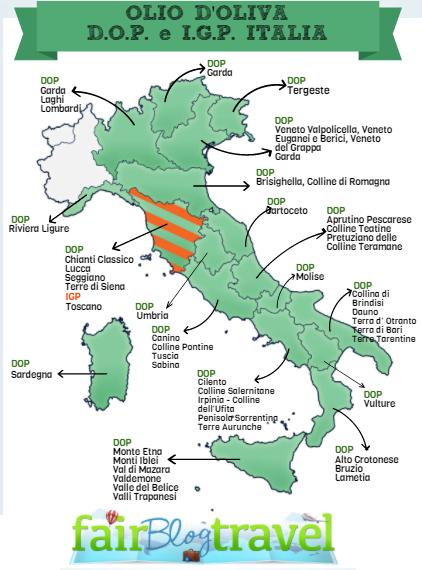 olio DOP in Italia