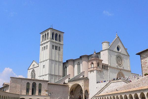 600x400 Basilica Assisi