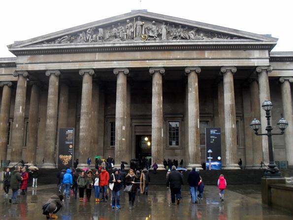 Visitare Londra in inverno - ingresso al British Museum