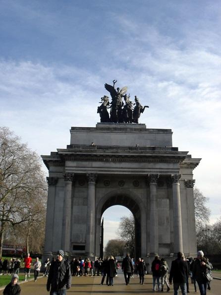 visitare Londra in inverno - a spasso