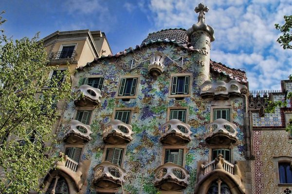 cosa vedere a barcellona - Casa Batlló