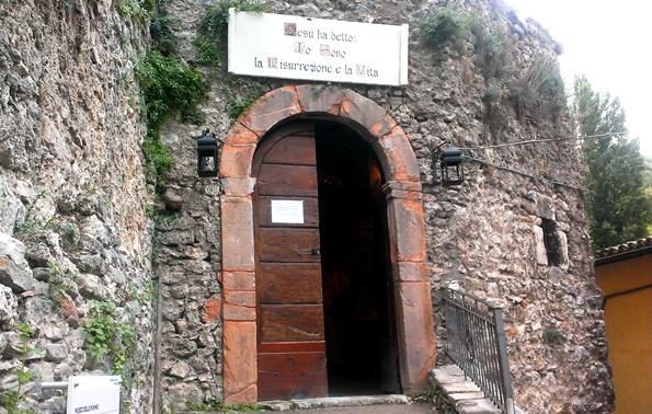 Ingresso Museo delle Mummie - Cosa vedere a Ferentillo