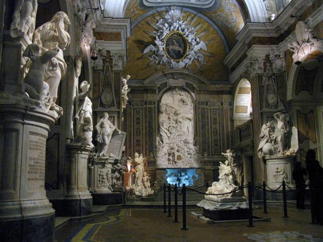 Cappella Sansevero, interno