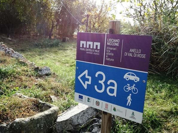 Sentieri a Lisciano Niccone - Alta Valle del Tevere