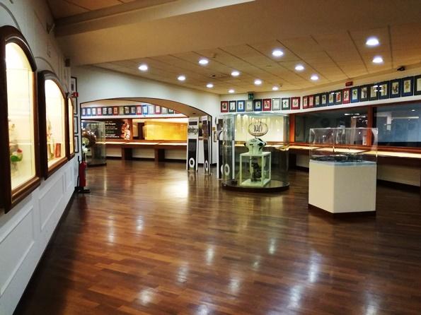 Gli interni del Museo Perugina