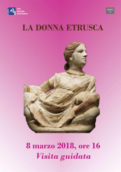 cosa fare 8 marzo in Umbria - donna etrusca