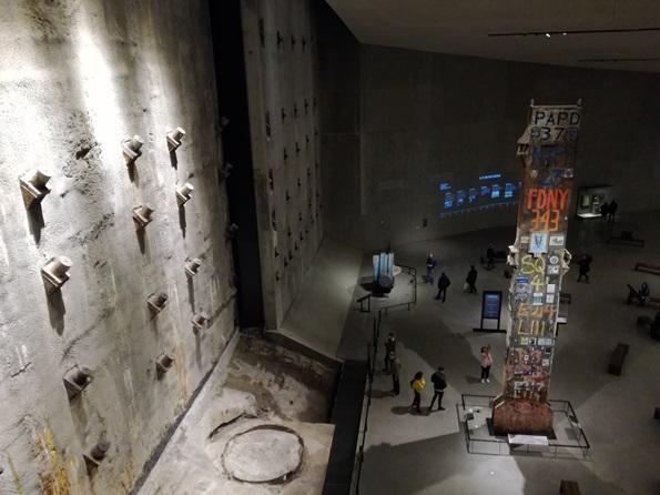 Museo 11 settembre cosa vedere -interno.