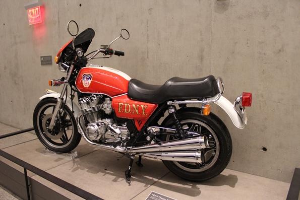 Museo 11 settembre - moto pompieri