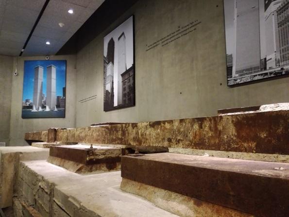 Museo 11 settembre cosa vedere -resti delle Torri