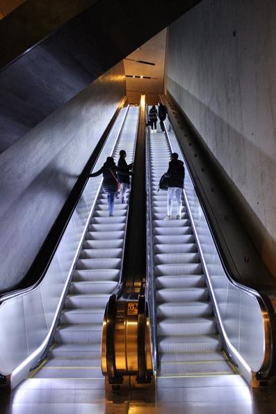 Museo 11 settembre cosa vedere- scale mobili
