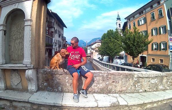 Prima vacanza con il cane in Trentino - Borgo Valsugana