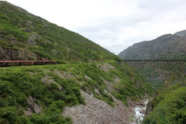 Viaggi in treno - Alaska White Pass