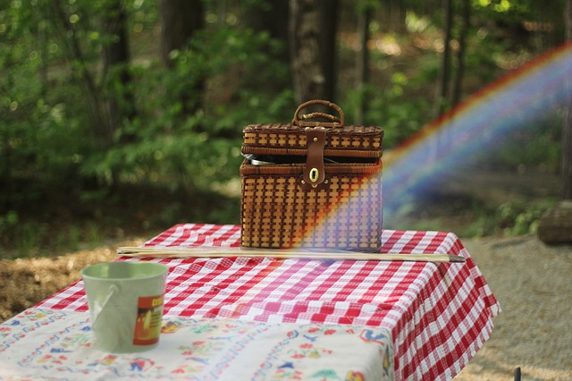 Cascate del Menotre, picnic