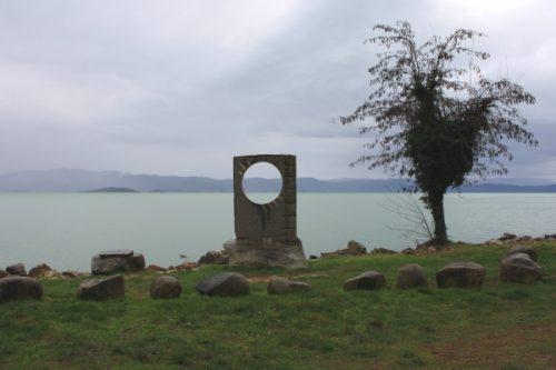 Lago Trasimeno in inverno