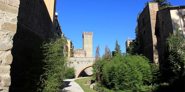Umbertide, percorso lungo il torrente Reggia