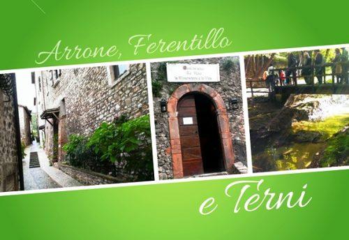 Cosa vedere ad Arrone, Ferentillo e Terni