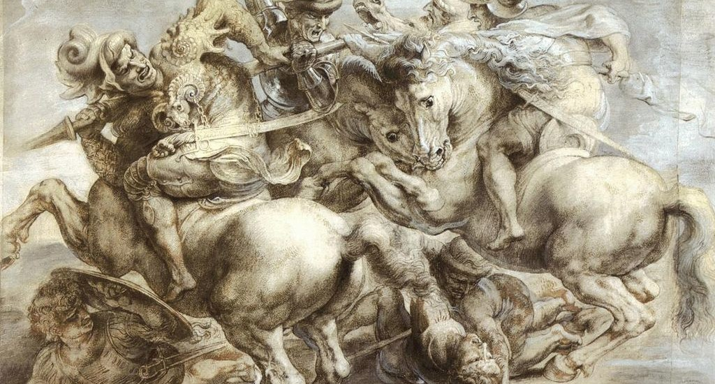 Battaglia di Anghiari Copia di Peter Paul Rubens