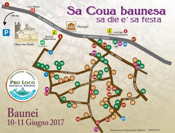 Cortes Apertas 2017 Baunei Sa Coua Baunesa