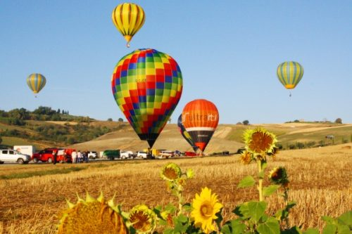Mongolfiere in Umbria