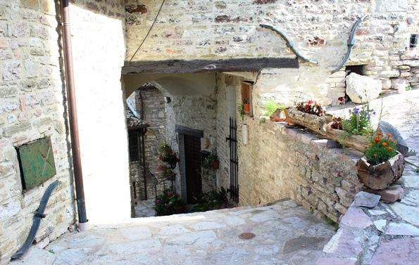 Passeggiata ad Armenzano - Vicoli