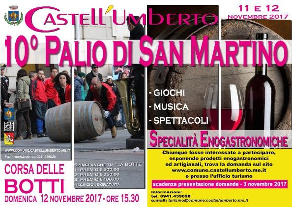 Sicilia a novembre - corsa delle botti castell'umberto