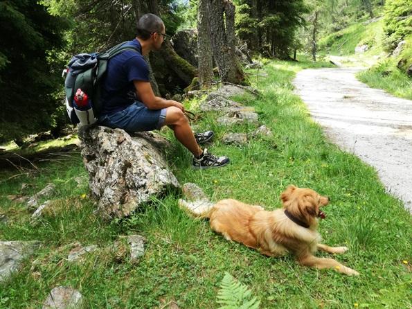 Prima vacanza con il cane in Trentino - relax